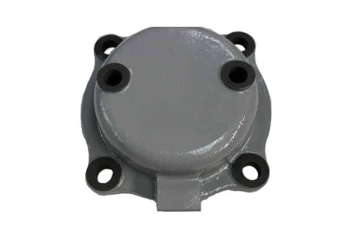 Cover front anti skid